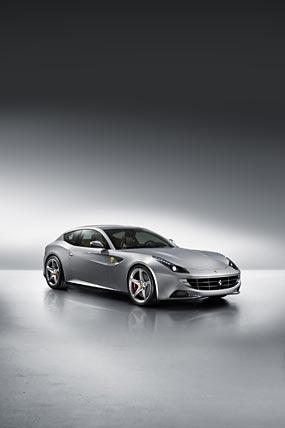2012 Ferrari FF phone wallpaper thumbnail.
