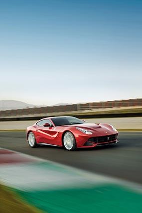 2013 Ferrari F12 Berlinetta phone wallpaper thumbnail.