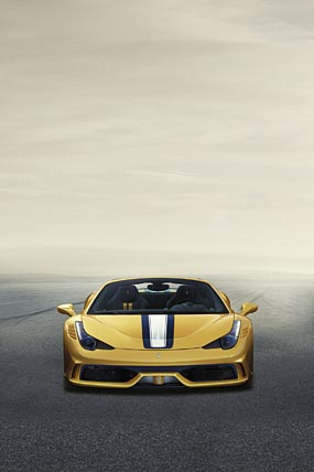 2015 Ferrari 458 Speciale A phone wallpaper thumbnail.