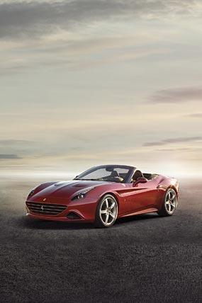 2015 Ferrari California T phone wallpaper thumbnail.