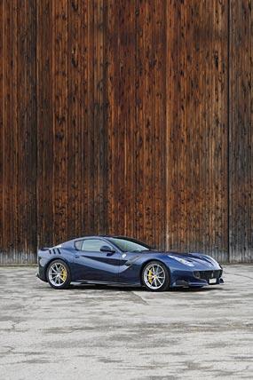 2016 Ferrari F12tdf phone wallpaper thumbnail.