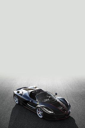 2017 Ferrari LaFerrari Aperta phone wallpaper thumbnail.