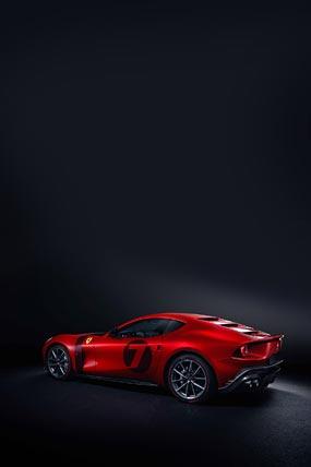 2020 Ferrari Omologata phone wallpaper thumbnail.