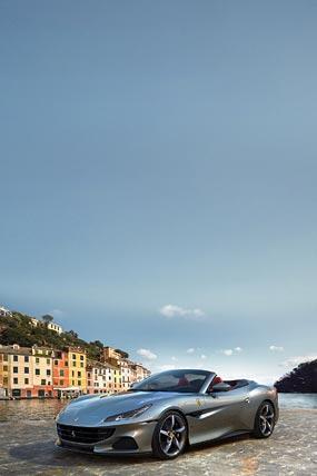 2021 Ferrari Portofino M phone wallpaper thumbnail.