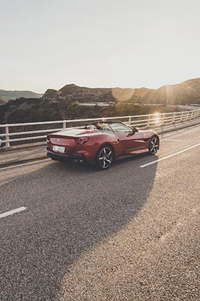 2021 Ferrari Portofino M phone wallpaper thumbnail.