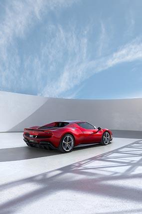 2022 Ferrari 296 GTB phone wallpaper thumbnail.