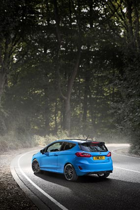 2020 Ford Fiesta ST Edition phone wallpaper thumbnail.