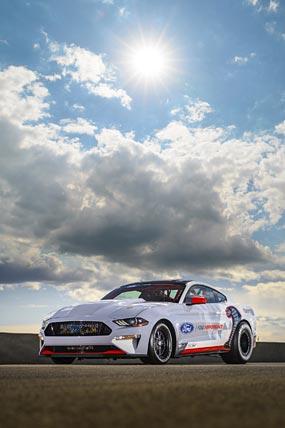 2020 Ford Mustang Cobra Jet 1400 Concept phone wallpaper thumbnail.
