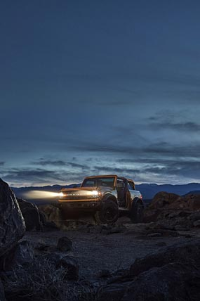 2021 Ford Bronco phone wallpaper thumbnail.