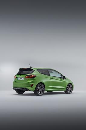 2022 Ford Fiesta ST phone wallpaper thumbnail.