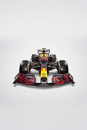 2021 Red Bull Racing RB16B phone wallpaper thumbnail.