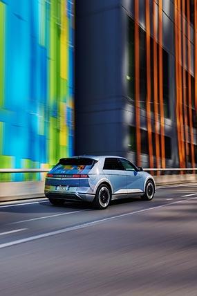 2022 Hyundai Ioniq 5 phone wallpaper thumbnail.