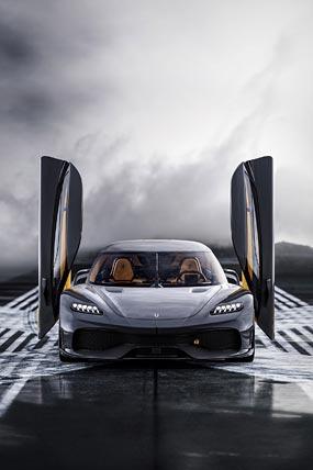 2021 Koenigsegg Gemera phone wallpaper thumbnail.