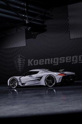 2021 Koenigsegg Jesko Absolut phone wallpaper thumbnail.