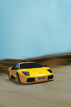 2002 Lamborghini Murcielago phone wallpaper thumbnail.