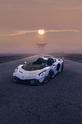 2020 Lamborghini SC20 phone wallpaper thumbnail.