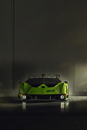 2021 Lamborghini Essenza SCV12 phone wallpaper thumbnail.