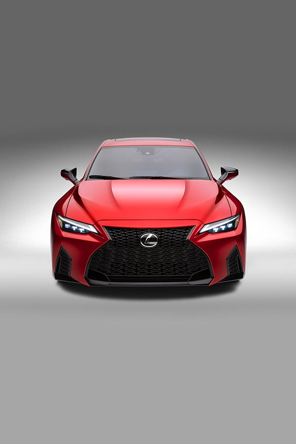 2022 Lexus IS 500 F Sport Performance phone wallpaper thumbnail.