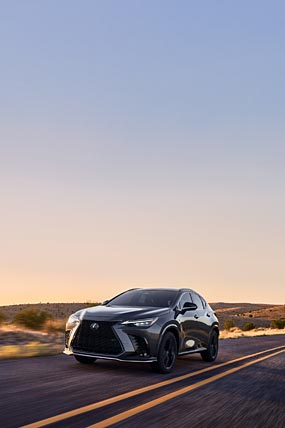 2022 Lexus NX F Sport phone wallpaper thumbnail.