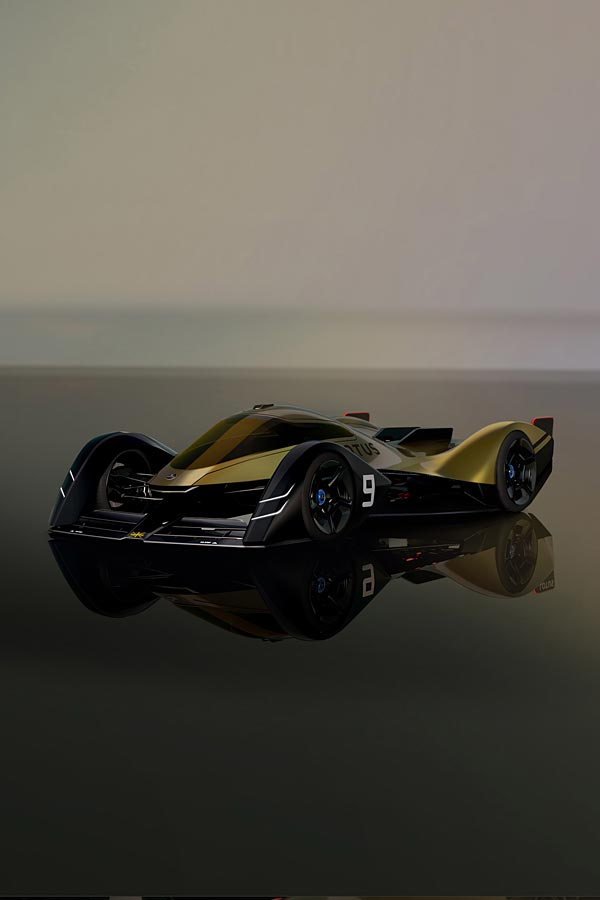 2021 Lotus E-R9 Concept phone wallpaper thumbnail.