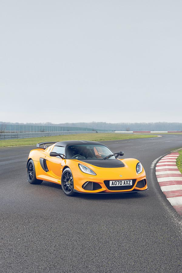 2021 Lotus Exige Sport 390 Final Edition phone wallpaper thumbnail.