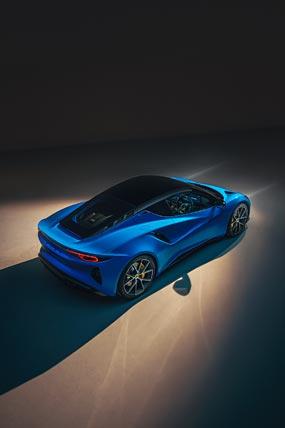 2023 Lotus Emira phone wallpaper thumbnail.