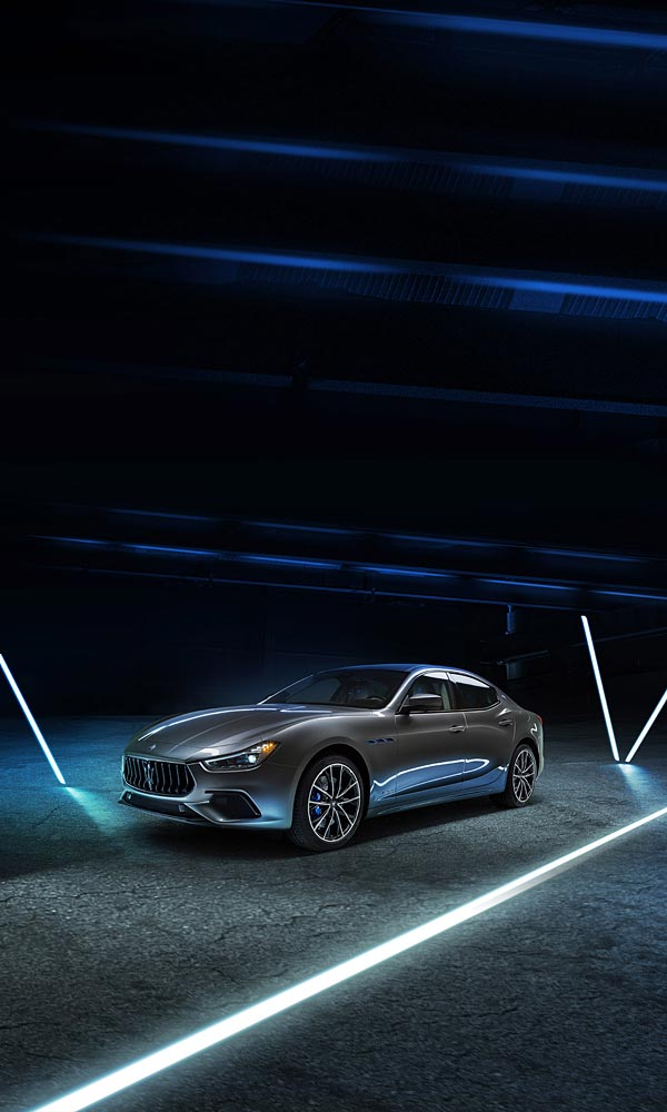 2021 Maserati Ghibli Hybrid phone wallpaper thumbnail.