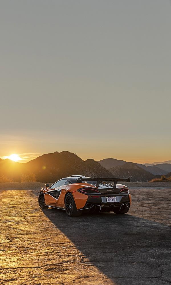 2020 McLaren 620R phone wallpaper thumbnail.