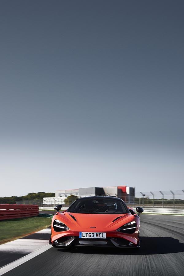 2021 McLaren 765LT phone wallpaper thumbnail.