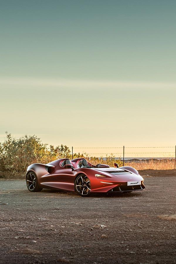 2021 McLaren Elva phone wallpaper thumbnail.