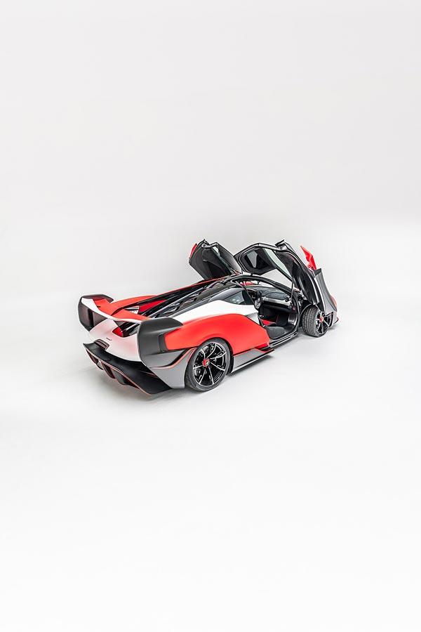 2021 McLaren Sabre by MSO phone wallpaper thumbnail.