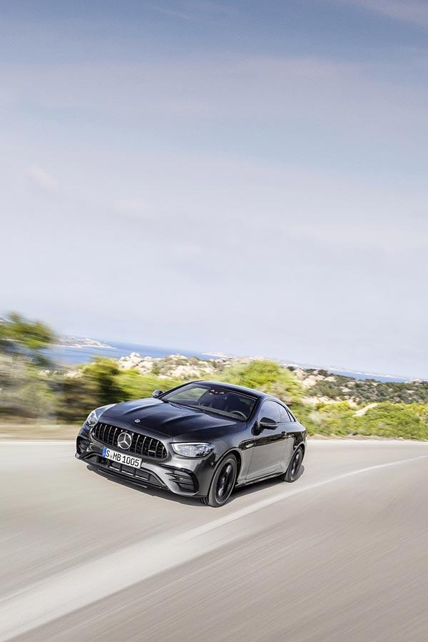 2021 Mercedes-AMG E53 phone wallpaper thumbnail.