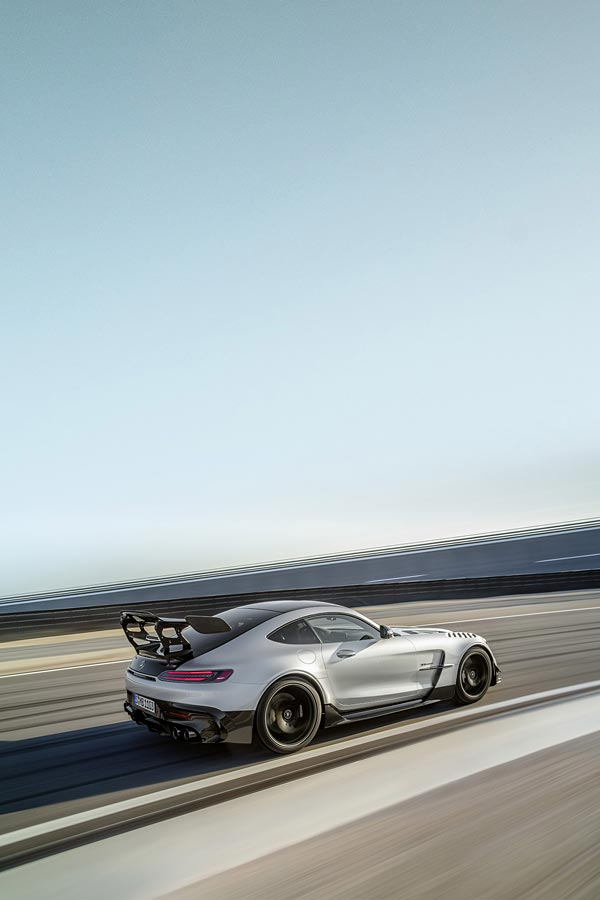 2021 Mercedes-AMG GT Black Series phone wallpaper thumbnail.