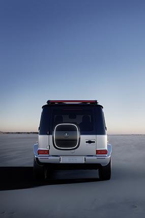 2021 Mercedes-Benz EQG Concept phone wallpaper thumbnail.