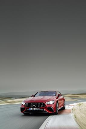 2023 Mercedes-AMG GT63 S E Performance 4-Door phone wallpaper thumbnail.