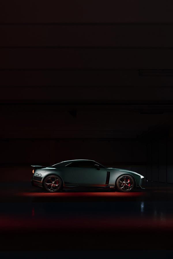 2021 Nissan GT-R50 by Italdesign phone wallpaper thumbnail.
