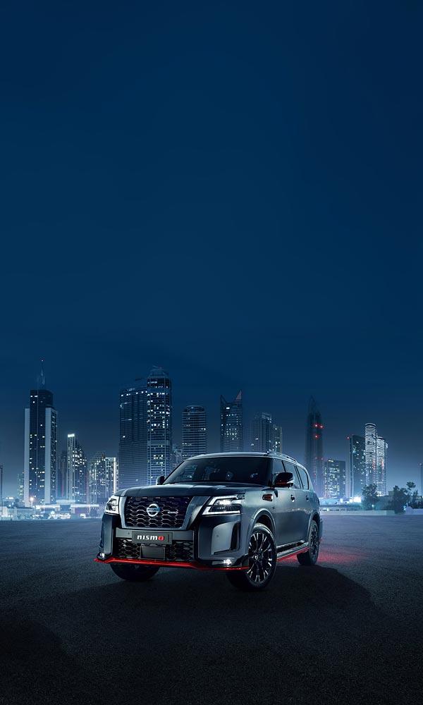 2021 Nissan Patrol Nismo phone wallpaper thumbnail.