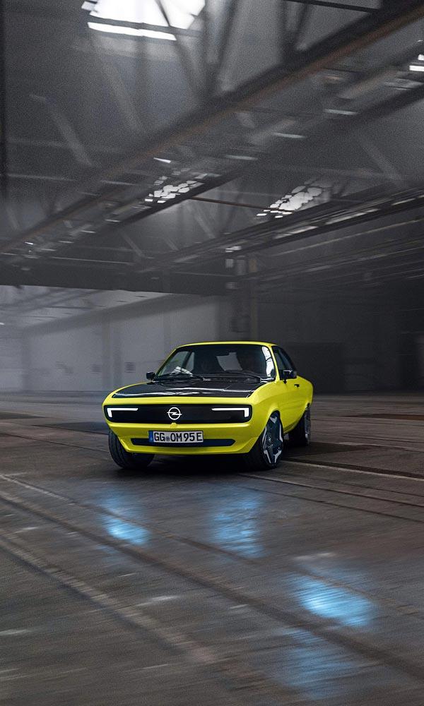 2021 Opel Manta GSe ElektroMOD  phone wallpaper thumbnail.