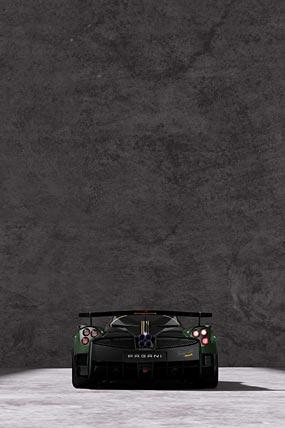 2021 Pagani Huayra BC Pacchetto Tempesta phone wallpaper thumbnail.