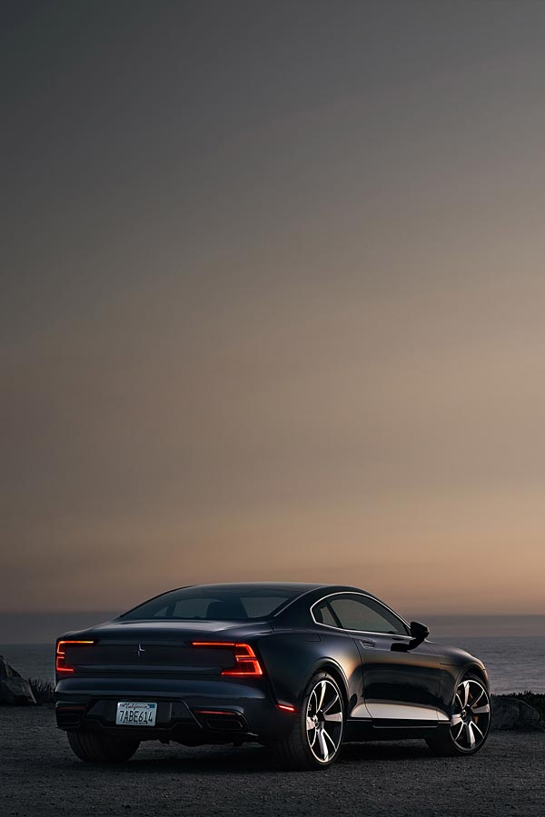 2020 Polestar 1 phone wallpaper thumbnail.