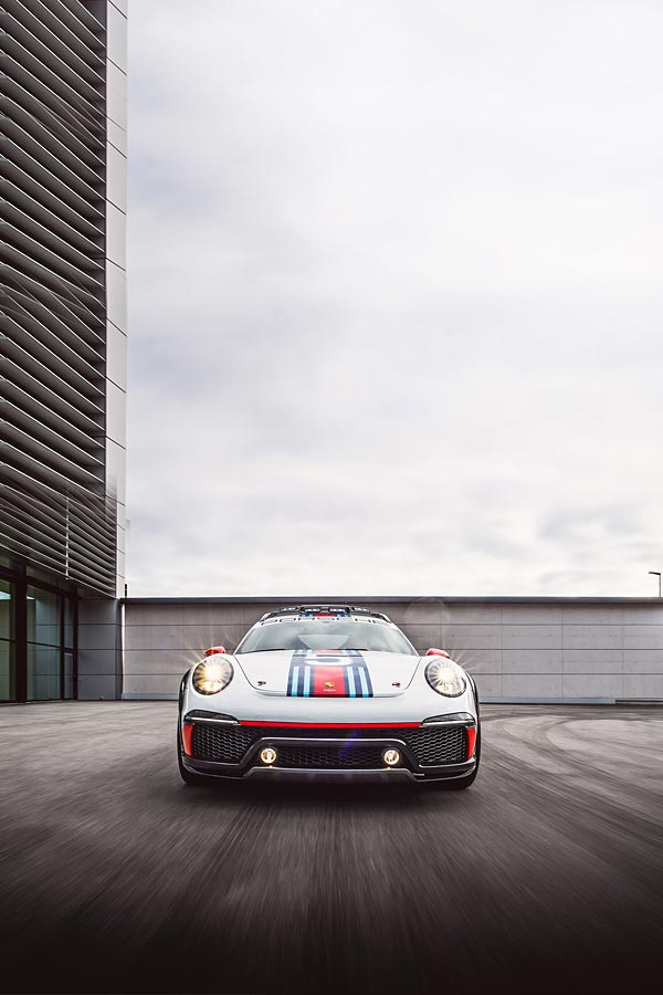 2012 Porsche 911 Vision Safari Concept phone wallpaper thumbnail.