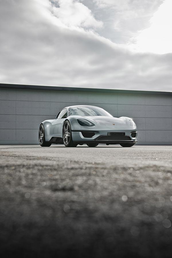 2013 Porsche 904 Living Legend Concept phone wallpaper thumbnail.