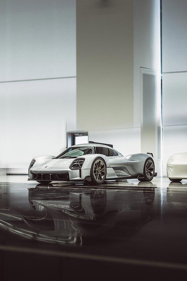 2017 Porsche 919 Street Concept phone wallpaper thumbnail.
