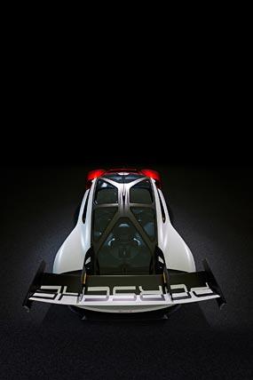 2021 Porsche Mission R Concept phone wallpaper thumbnail.