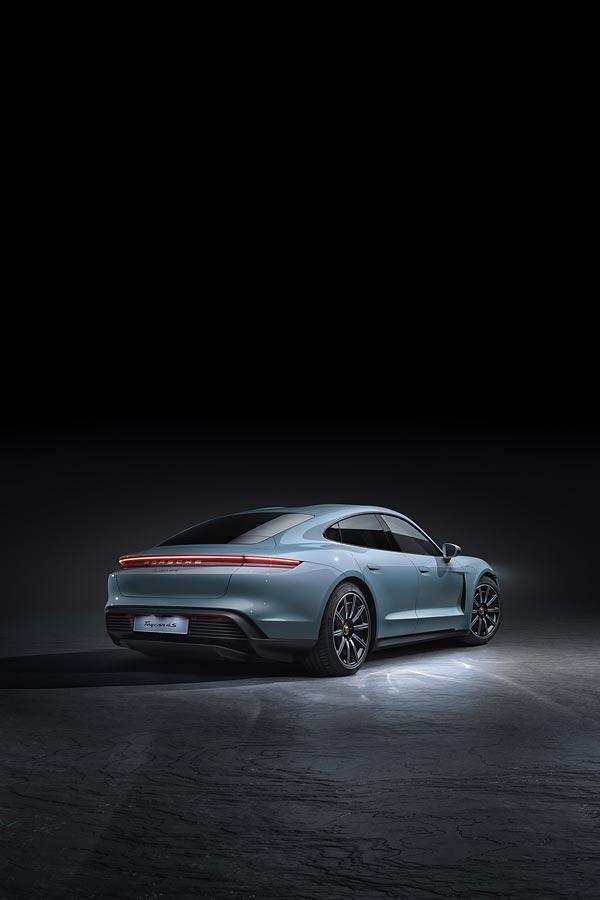 2021 Porsche Taycan 4S phone wallpaper thumbnail.