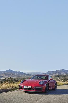 2022 Porsche 911 Carrera GTS phone wallpaper thumbnail.