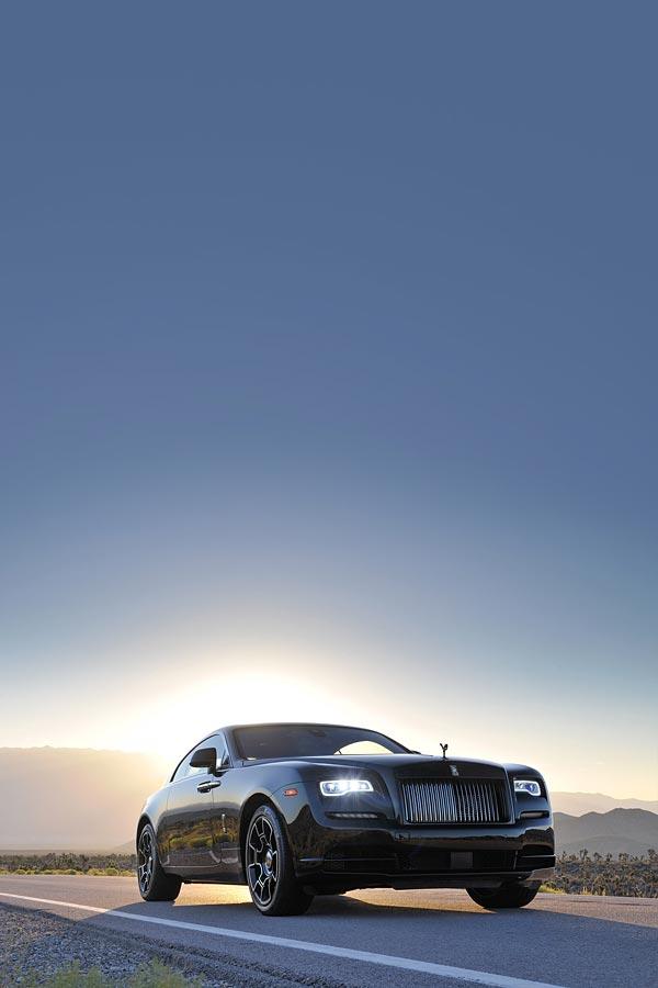 2017 Rolls-Royce Wraith phone wallpaper thumbnail.