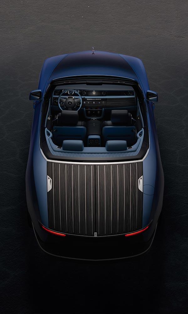 2021 Rolls-Royce Boat Tail phone wallpaper thumbnail.