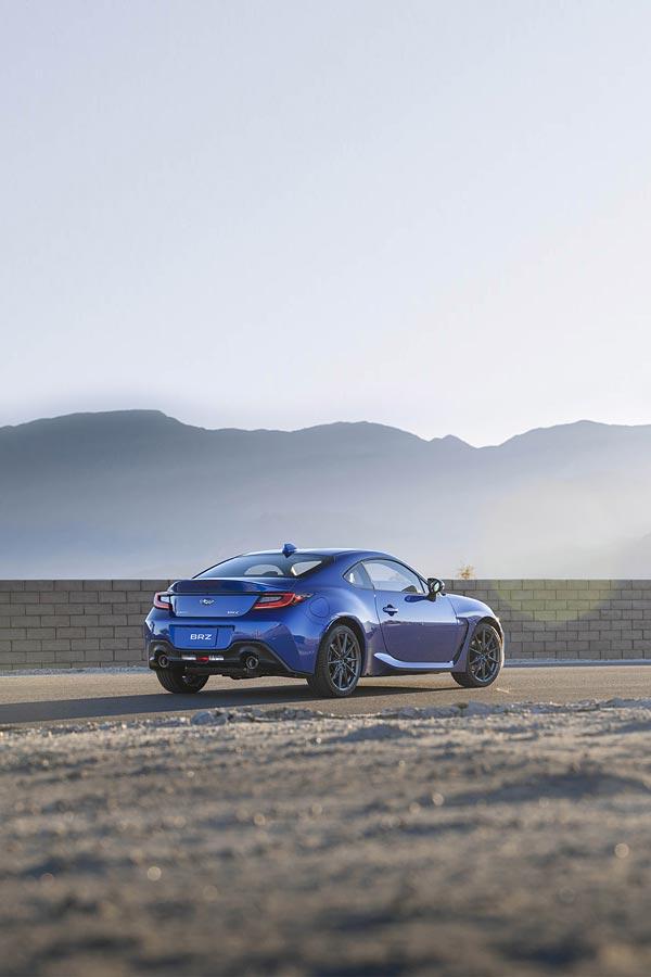 2022 Subaru BRZ phone wallpaper thumbnail.