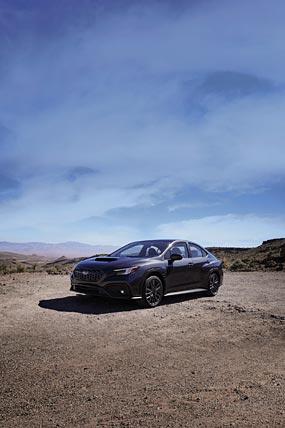 2022 Subaru WRX phone wallpaper thumbnail.